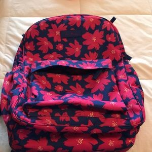 Vera Bradley Pink and blue backpack